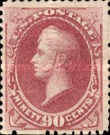 [Special Printings - Designs of 1873. Hard White Wove Paper without Gum, Typ AP3]