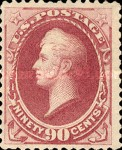 [Printed by American Bank Note Company - Designs of 1873. Thin to Thick Soft Porous Paper, Typ AP4]