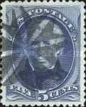 [Printed by American Bank Note Company - Designs of 1873. Thin to Thick Soft Porous Paper, Typ AQ3]