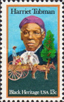 [Black Heritage - Harriet Tubman and Cart Carrying Slaves, Typ ARQ]