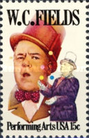 [Performing Arts - W.C. Fields, Typ AUJ]