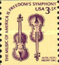 [Americana Issue - Violin, Coil Stamp, Typ AUR]