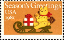 [Christmas Stamps, Typ AZE]