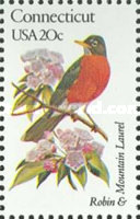 [State Birds and Flowers, Typ AZV]