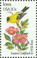 [State Birds and Flowers, Typ BAD]