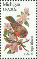 [State Birds and Flowers, Typ BAK]