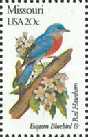 [State Birds and Flowers, Typ BAN]