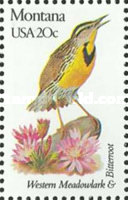 [State Birds and Flowers, Typ BAO]