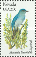 [State Birds and Flowers, Typ BAQ]