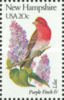 [State Birds and Flowers, Typ BAR]