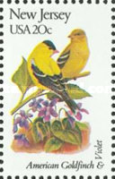 [State Birds and Flowers, Typ BAS]