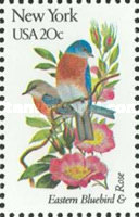 [State Birds and Flowers, Typ BAU]