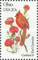 [State Birds and Flowers, Typ BAX]