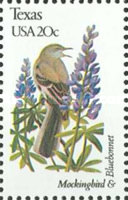 [State Birds and Flowers, Typ BBF]