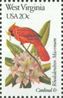 [State Birds and Flowers, Typ BBK]