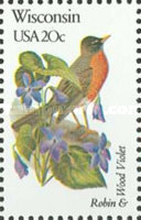 [State Birds and Flowers, Typ BBL]