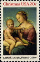 [Christmas Stamps, Typ BDW]
