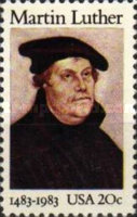 [The 500th Anniversary of Birth of Martin Luther, Typ BDY]