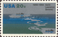 [The 25th Anniversary of St.Lawrence Seaway, Typ BEY]