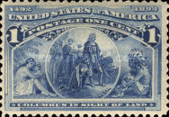 [Columbian Exposition Issue, Typ BG]