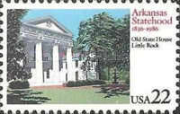 [The 100th Anniversary of Arkansas Statehood, type BHR]