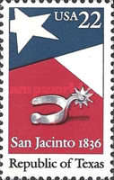 [The 150th Anniversary of the Republic of Texas, Typ BJA]