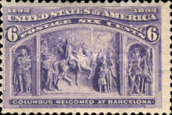 [Columbian Exposition Issue, Typ BL]