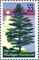 [The 150th Anniversary of Michigan Statehood - White Pine, type BLM]