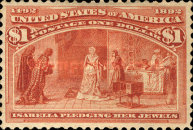 [Columbian Exposition Issue, Typ BR]