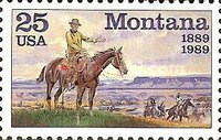 [The 100th Anniversary of Montana Statehood, type BRJ]