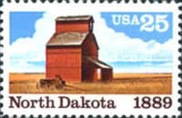 [The 100th Anniversary of North Dakota Statehood, type BRL]
