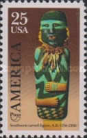 [America/PUAS Issue - Carved Figure, Typ BSI]