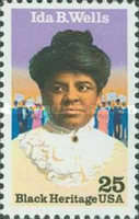 [Black Heritage - Ida B.Wells, type BSU]
