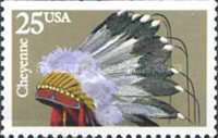 [Indian Headdresses Booklet Issue, Typ BTX]