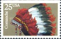 [Indian Headdresses Booklet Issue, type BTY]