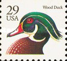[Wood Duck Booklet Issue, type BUS]