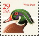 [Wood Duck Booklet Issue, type BUS1]