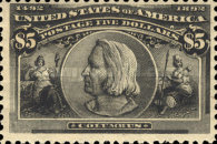 [Columbian Exposition Issue, Typ BV]