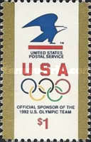 [USPS Logo & Olympic Rings, type BVK]