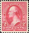 [George Washington, 1732-1799 - Lines do Not Cross Frame of Triangle, Typ BX12]