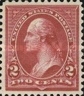 [George Washington, 1732-1799 - Lines do Not Cross Frame of Triangle, Typ BX14]