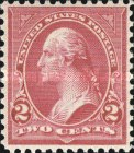 [George Washington, 1932-1799 - Lines do Not Cross Frame of Triangle - Recut, See Info, Typ BX19]