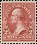 [George Washington, 1932-1799 - Lines do Not Cross Frame of Triangle - Recut, See Info, Typ BX20]