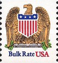 [Bulk Rate - Eagle and Shield (10 cents), type BXJ]