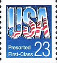[Presorted First-Class - USA, type BXQ]