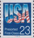[Presorted First-Class - USA, type BXQ1]