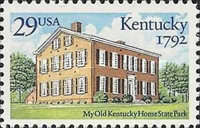[The 200th Anniversary of Kentucky Statehood, type BZB]