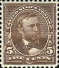 [Ulysses S. Grant, 1822-1885 - Watermarked, Typ CA1]