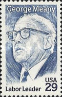 [George Meany, type CHX]