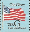 [Flag - Old Glory - First-Class Presort (25 cents), Typ CJV]